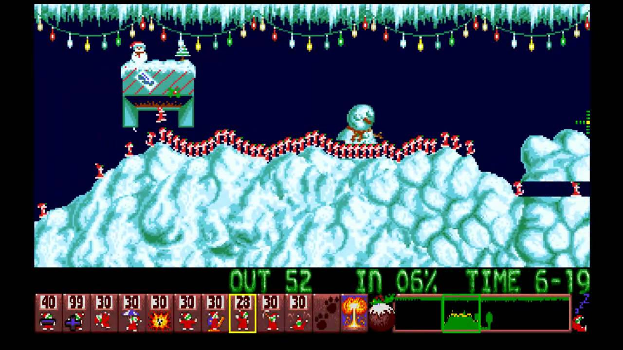 christmas-lemmings