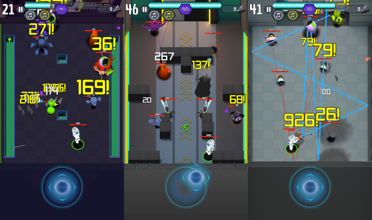 Cyber Hero - Mission Runner Android game