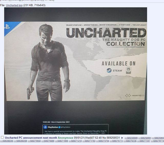 uncharted collection leak