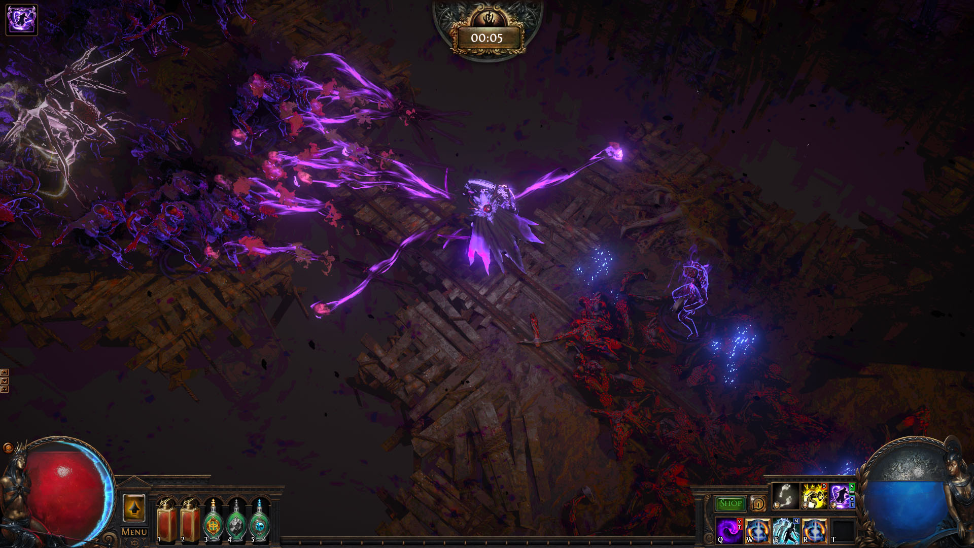 path of exile: spank the bosses uber